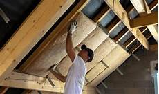 isolation du grenier par la sous toiture