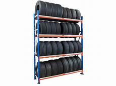 rack porte 224 pneus 4 niveaux l 150 cm de setam rayonnage