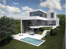 Schiener Architects Haus Am Hang In Penzing