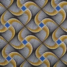 Tissu Africain Wax Vert Mondial Tissus