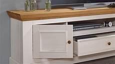 lowboard landhaus lowboard 1 glora tv board kiefer massiv wei 223 gewachst