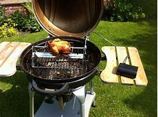 barbecue bbq rotisserie spit grill even use with lid