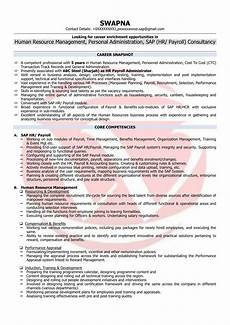 hr executive sle resumes download resume format templates