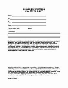 medical fax cover sheet template free download create edit fill and print wondershare