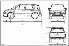 Revue Technique Automobile Renault Scenic Dimensions