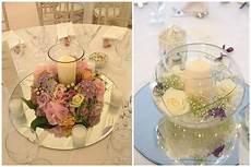 composizioni candele e fiori matrimonio a tema romantico colorato di pink