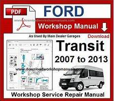 car engine manuals 2007 ford e150 security system ford transit 2007 to 2013 workshop repair manual