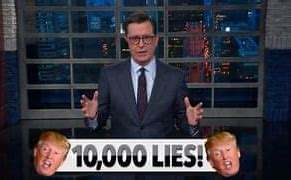 Image result for Colbert Quotes on trump