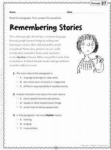 reading comprehension worksheets chapter 2 worksheet