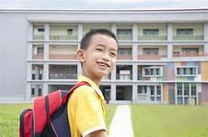 kid happy to go to school stock image image of ethnic happy 25610383