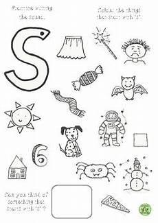 letter s phonics worksheet by miss emmis teachers pay teachers