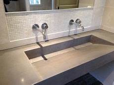 plan vasque en creux balian beton atelier plan vasque