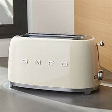 smeg 4 slice toaster crate and barrel