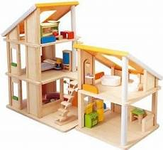 plan toy chalet doll house with furniture plan toys chalet dollhouse w furniture free shipping