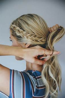 hair how to the double braid bun hair hair styles braids i hair makeup