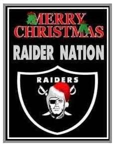 merry christmas raiders image merry christmas oakland raiders fans raiders