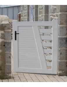 portillon aluminium portillon pvc brico travo