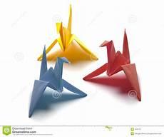 origami gabbiano colorful origami birds stock photo image of origami