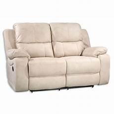 sofa breit sofa 2 sitzer beige mit relaxfunktion 154 cm breit