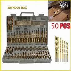 Werkzeug Bohrer Set by 50 Stk Set Holz Werkzeug Bohrer Hss Titan S 228 Ge Set Twist