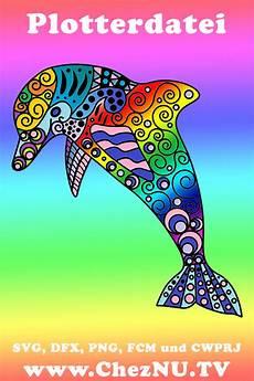 Malvorlagen Delphin Xl Muster Delfin