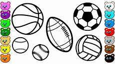 sports coloring sheets printable 17811 sport balls coloring pages for