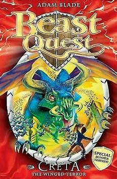 beast quest early reader creta the winged terror by adam