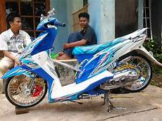 Modif Motor Beat Fi by Top Modifikasi Motor Balap Terbaru Modifikasi Motor
