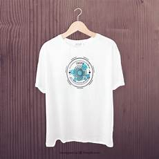 t shirt en white t shirt front mockup psd file free