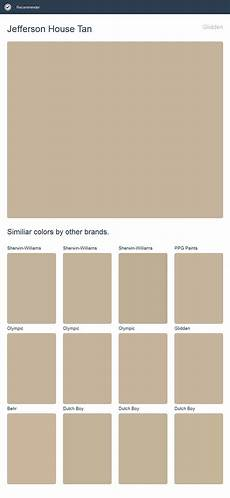 glidden paint color jefferson house jefferson house glidden click the image to see similiar colors by other brands behr