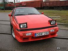 manual repair autos 1990 mitsubishi chariot seat position control 1990 mitsubishi starion turbo 2600 eci car photo and specs