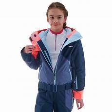 wed ze combinaison de ski enfant ski p suit 500 bleue
