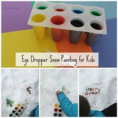 winter worksheets 19921 eye dropper snow painting for sensory tables winter activities for preschool arts