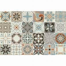 24 Stickers Carreaux De Ciment Rumba Cuisine Carrelages