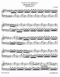 johann sebastian bach prelude no 3 from book 1 of the