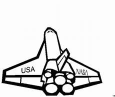 Ausmalbild Rakete Astronaut Nasa Usa Rakete Ausmalbild Malvorlage Science Fiction