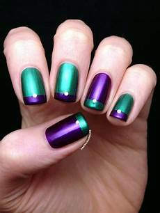 45 so damn sexy purple nail art designs