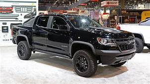 2018 Chevy Colorado ZR2 Midnight And Dusk Editions To