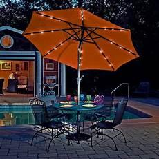mirage 9 ft market solar led auto tilt patio umbrella patio umbrellas market umbrella
