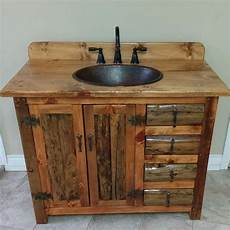 rustic bathroom vanity etsy