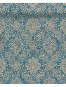 tapete vlies tapete vlies barock vintage blau as creation 33607 5