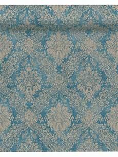tapete vlies tapete vlies barock vintage blau as creation 33607 5