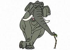 Malvorlagen Elefant Pdf Ausmalbilder Tiere Elefant