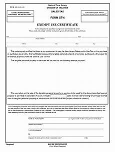 form st 4 nj st 4 2016 fill out tax template online us legal forms