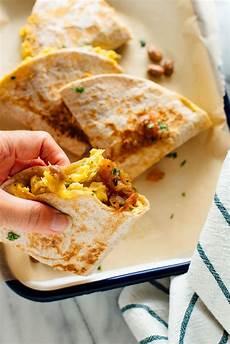 simple breakfast quesadillas recipe cookie and kate