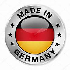made in germany silver badge stock vector 169 nirodesign