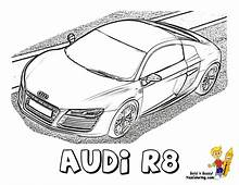 Ice Cool Car Coloring Page Rollin With Audi R8 Tell