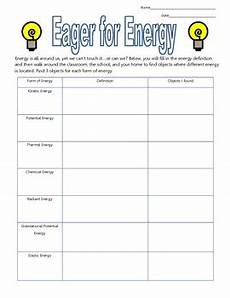 types of energy worksheet eager for energy a graphic organizer for different energy