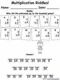single digit multiplication facts worksheet multiplication facts riddles single digit multiplication