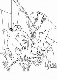 Malvorlagen Kleine Fische Gro 223 E Haie Kleine Fische 10 Ausmalbilder F 252 R Kinder